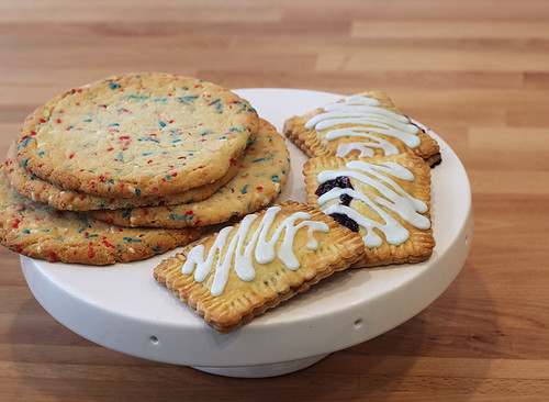 Confetti Cookies and Triple Berry Poptarts