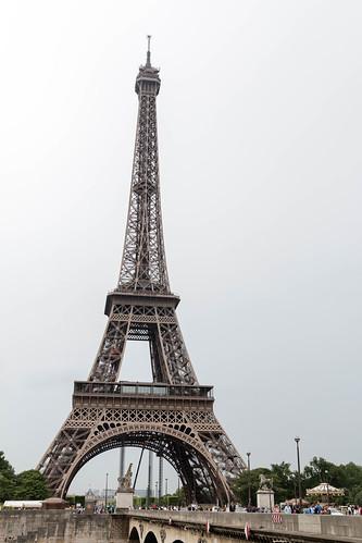 La Tour Eiffel et le Pont d'Iéna