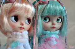 space-time Babies (♥PAM♥dolls♥) Tags: cute doll blythe artdoll blythedoll pamdolls