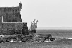 Carcavelos ,  volta (António Alfarroba) Tags: sea mar rocks fortaleza fortress caravel carcavelos rochas caravela