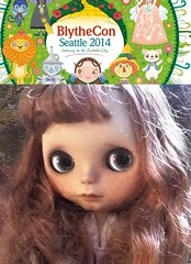 Blythe-a-Day July 2014 13:Donna Is Excited about Blythecon in The Emerald City
