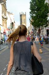 Liverpool (throughthelens108) Tags: uk england black liverpool hair bag walking tail pony lpool