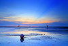 blue moment (Thunderbolt_TW) Tags: sunset sea sky sun reflection water windmill canon landscape ray taiwan 夕陽 台灣 日落 風景 windturbine crepuscular 6d 彰化 changhua 風車 耶穌光 佛光 彰濱 西濱 肉粽角 霞光 彰濱工業區 風景攝影 hsienhsi 線西 changpingindustryarea