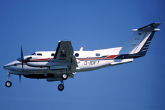 ZZ) Brose Beech B-200 D-IBFT BCN 08/08/2000 (jordi757) Tags: barcelona nikon airplanes bcn kodachrome beech f90x kodachrome64 avions b200 elprat ilyushin il86 lebl dibft