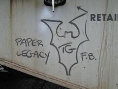 Texican Gothic (Railroad Rat) Tags: railroad b canada art cn train graffiti gothic canadian hop graff cp hobo freight mideast trackside fr8 markal moniker texican benching