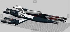 Setbacks and Progress ({.Reaper.}) Tags: digital lego designer wip file mass effect normandy ssv corrupted sr1 ldd