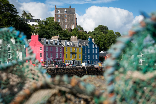 The Seafront at Tobermory, Isle of Mull