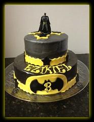 Batman cake by Rhonda, Santa Cruz, CA, www.birthdaycakes4free.com