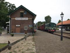 VSM 636 arriving at Beekbergen, August 2, 2014 (cklx) Tags: amsterdam 600 500 excursion apeldoorn beekbergen vsm 9802 9908 locon traintour bakkies railexperts