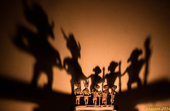 The Band (saayon) Tags: india musicians ancient candle shadows band ashtadhatu stauete