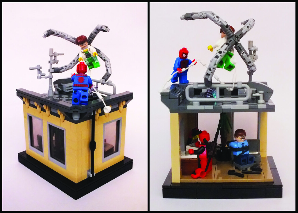 Lego Marvel Moc: The World's Best Photos Of Moc And Octopus