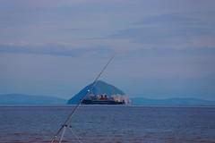 M.V. ISLE OF ARRAN PASSING WATER (AND AILSA CRAIG) (R STORNAWAY) Tags: sea ferry island clyde calmac arran isleofarran mv firth caledonian ailsacraig macbrayne