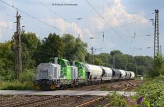 650 303-7 / 650 121-3 für NIAG (vsoe) Tags: railroad train germany deutschland engine eisenbahn railway nrw 650 g6 bahn nordrheinwestfalen ratingen züge güterzug niag uacs vossloh doppeltraktion güterzugstrecke
