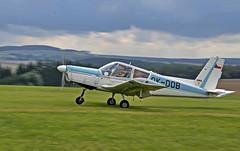 Zlin Z-43 (Zejdla CZ) Tags: light airport nikon republic czech aircraft aviation trainer czechoslovakia zlin otrokovice z43 moravan d7000 18105mmf3556 lkpi pibislav