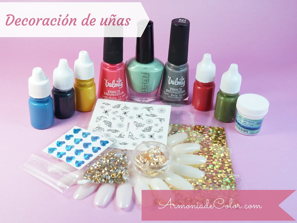 materiales decoracin de uas