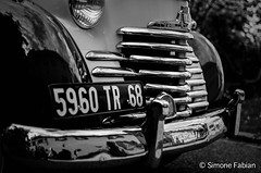 Old Car Close (meepeachii) Tags: bw france car lowkey oldie