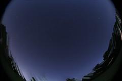 Perseid Meteor Shower 2014 (Radical Retinoscopy) Tags: nightphotography wideangle fisheye astrophotography astronomy nightsky 8mm tracking meteor astrophoto meteorshower perseid perseidmeteorshower skytracker ioptron canon815mm starstax fisheyeastrophotography 8mmastrophotography