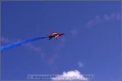 Red Arrows (G.L. Photography) Tags: lifeboat devon lancaster spitfire blades redarrows raiders chipmunks seaking rnli spearman 2014 beech18 dawlishairshow yak32