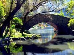 Early Autumn Gapstow Bridge (Eddie C3) Tags: newyorkcity centralpark manhattan gapstowbridge nycparks nyctourism