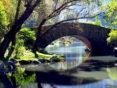 Early Autumn Gapstow Bridge (Eddie C3) Tags: newyorkcity centralpark manhattan gapstowbridge nycparks nyctourism