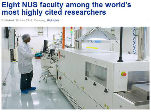 Eight NUS faculty among the world's most highly cited researchers