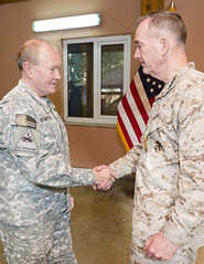 140826-D-HU462-362 (Chairman of the Joint Chiefs of Staff) Tags: usa afghanistan ceremony 18th change chairman command kabul coc relinquish isaf ocjcs