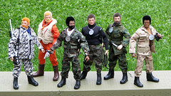 GI Joe Group Shot 01 (AT Foto) Tags: team group joe adventure custom gi