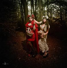 """The journey begins"" (Azadeh Brown) Tags: fairytale forest gothic goth medieval littleredridinghood fantasy gothgirl fairies azadeh darkart darkforest newromantic gothbride gothwedding snowwhiteandrosered darkfairytale breadandshutter azadehbrown deadlyd0ll laylagordon"