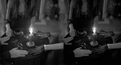 Sance (Helena Aguilar Mayans) Tags: film candle under jewelry medium pyramids paranormal ouija sance seance helenaaguilarmayans