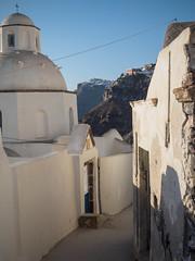 Fira - Santorini (davepickettphotographer) Tags: summer island islands europe geek eu olympus santorini greece cyclades fira thera 2014 em1 esystem olympuscamera