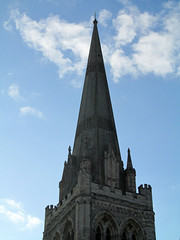 Victorian restoration (pefkosmad) Tags: uk vacation england holiday sussex exterior cathedral weekend landmark steeple spire restoration chichester chichestercathedral sirgeorgegilbertscott