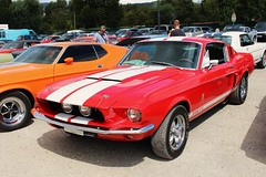 Ford Mustang Shelby GT 500 (alex73s) Tags: auto old red classic ford car rouge automobile voiture american coche shelby mustang 500 gt oldcar macchina ancienne gt500 americaine worldcars