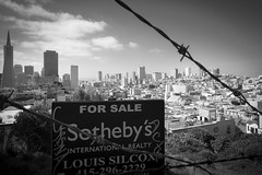 Utopia (*trevor) Tags: sanfrancisco california usa america cityscape forsale realestate sale auction may land fujifilm 2014 overpriced propertyprices xpro1