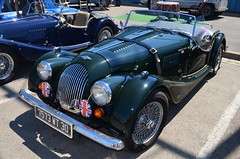 Morgan Plus 4 (benoits15) Tags: old uk english classic car vintage britain 4 great voiture historic plus british morgan coches anciennes palavas worldcars