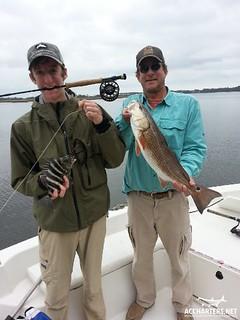 winter fishing charter Amelia Island, FL