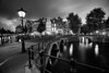 Emperor's Canal (l3v1k) Tags: city amsterdam night boat canal long exposure cityscape ringen van keizersgracht jorinde jinna 500px ifttt