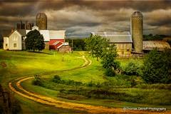 Iowa Farm, Home sweet Home. (Thomas DeHoff) Tags: lighting sony dramatic iowa textured farmstead a580