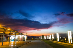 Hong Kong West Kowloon Waterfront Promenade  (Live for the moment...) Tags: china city travel