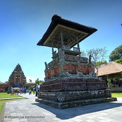 Pura Taman Ayun (rinz | adzrintaib.com) Tags: trip travel sky bali seascape tourism indonesia landscape religious island temple nikon pura photomatix d7000
