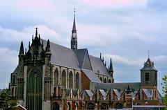 Church in Leiden (katushang) Tags: city holland color church netherlands landscape 50mm leiden nikon colorful europe nikkor kirk zuidholland 5018d 50mmafd nikond5100 fxlensondxcamera fullframelensoncropsensor fxlensonadxcamera