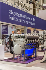 MTU_InnoTrans2014_17 (Rolls-Royce Power Systems AG) Tags: technology power engine rail rollsroyce systems 1600 series mtu 4000 2014 iep powerpack baureihe innotrans