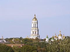 Kiev Pechersk Lavra bell tower (Elena Penkova) Tags: ukraine kiev kyiv kievpechersklavra
