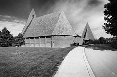 First Baptist Church (Columbus, Indiana) (@archphotographr) Tags: columbus church architecture project us may indiana places architect columbusindiana harryweese columbusin archidose ef1635mmf28liiusm canoneos5dmarkiii archdaily archphotographr hassanbagheri hbarchitectural firstbaptistchurchofcolumbus