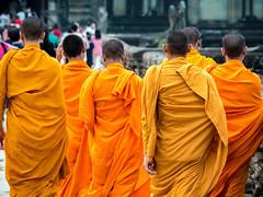 P1300567 (ivanpecina1) Tags: cambodia angkor temple budist monk sunrise asia olympus micro43 monjes camboya amanecer 40150
