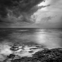 Super cloud (Murdoch333) Tags: bw beach blackandwhite bsquare clouds coast cyprus exposure fineart landscape longexposure monotone mood natural nature nd ocean prime waves weather weldingglass xpro1