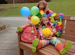 Fasching 2017 ... (Kindergartenkinder) Tags: 2017 kindergartenkinder annette himstedt dolls sanrike annemoni milina tivi essen grugapark karneval fasching
