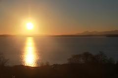 Puget Sound Sunset (RPahre) Tags: seattle richmondbeach shoreline pugetsound olympics mountains olympicmountains sunset