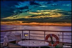 At Sea-017 (John@photosuite) Tags: sunset ship sea water sailing sky cruise ocean seascape boat