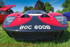 1960's Ford GT40 (EveryBodiesDeadDave) Tags: classic ford sports cool nikon low fast 1960s racer gt40 d60 ragleyhall everybodiesdeaddave