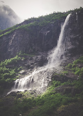 briksdal (janeterrygers) Tags: travel autumn winter snow ontario canada mountains green me nature water beautiful norway forest outside waterfall hamilton glacier fjord janet geiranger olden briksdal hamont errygers